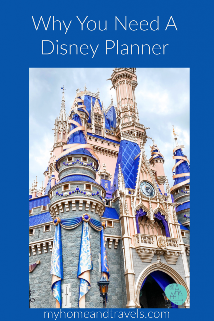 using a disney planner my home and travels  pinterest image