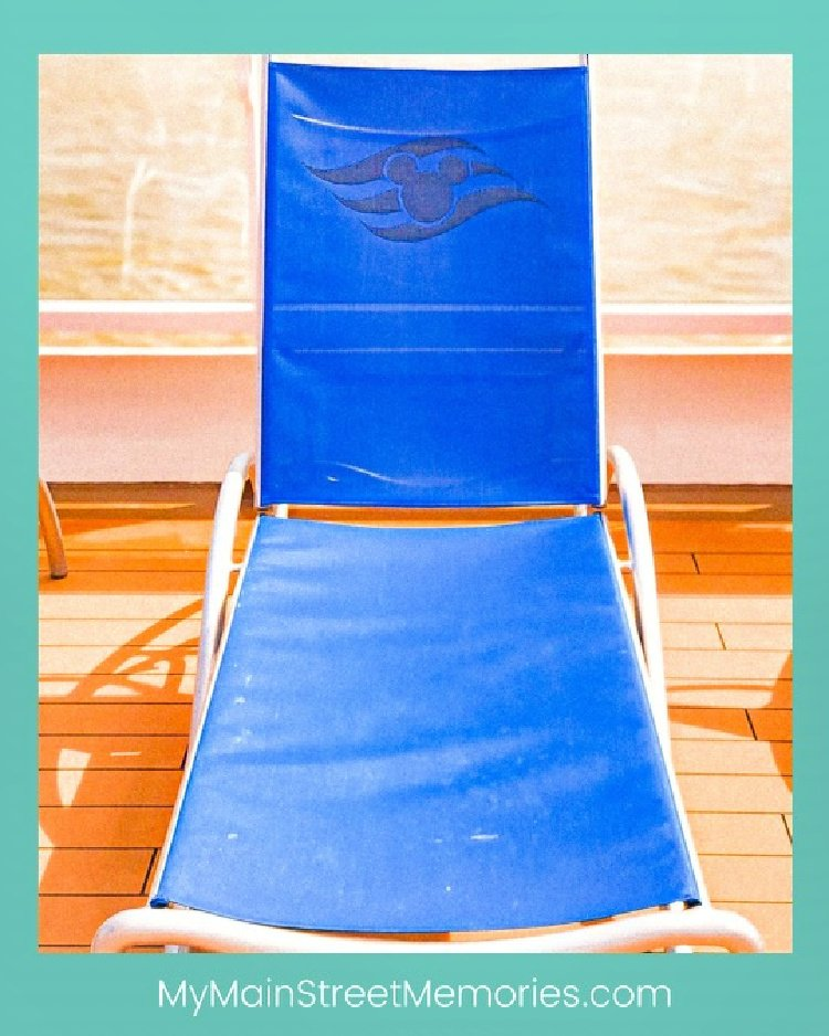using a disney planner my home and travels  lounge chair